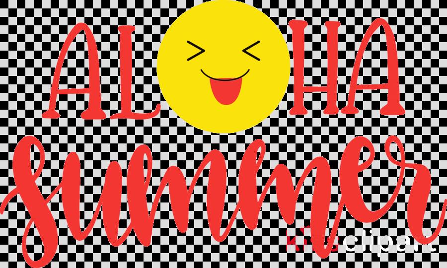 Aloha summer emoji summer