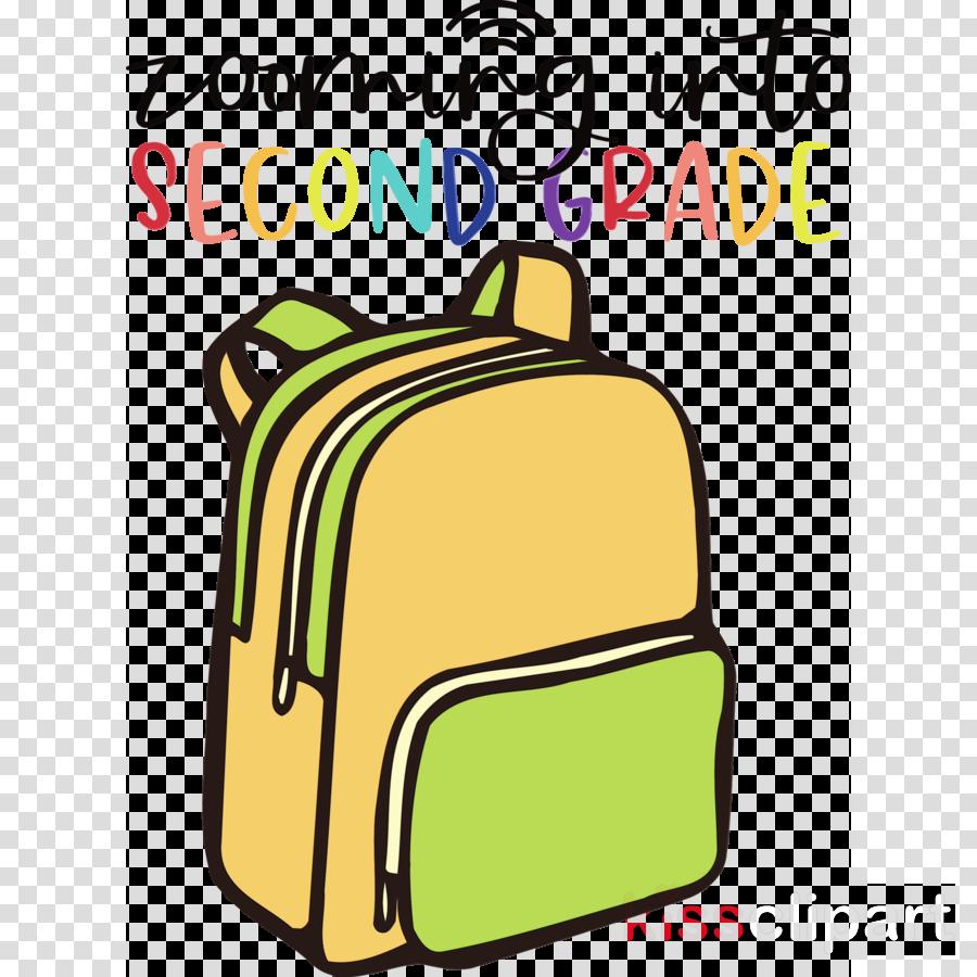 bag backpack handbag baggage yellow