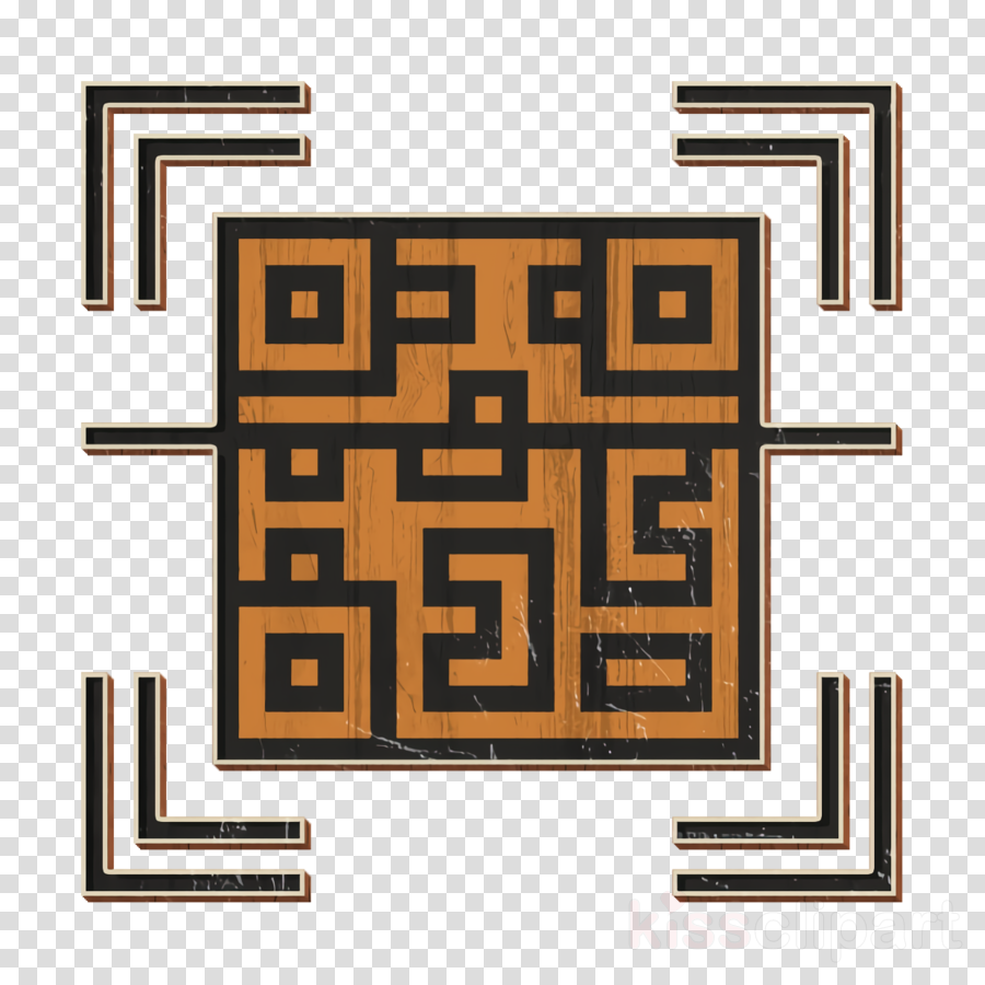 Qr code icon Scan icon