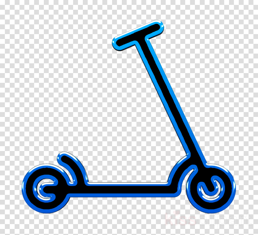Minimal Transports icon Scooter icon transport icon