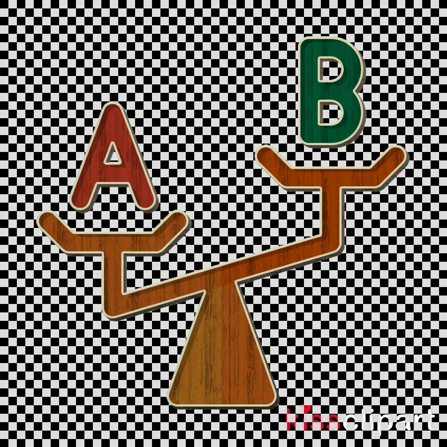 Balance icon Comparison icon Design Thinking icon