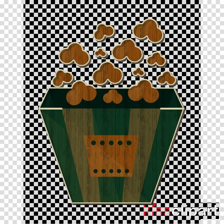 Foods icon Popcorn icon