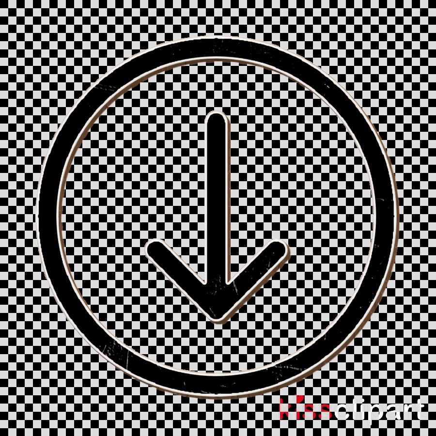 Basic UI icon Download icon Arrow down icon