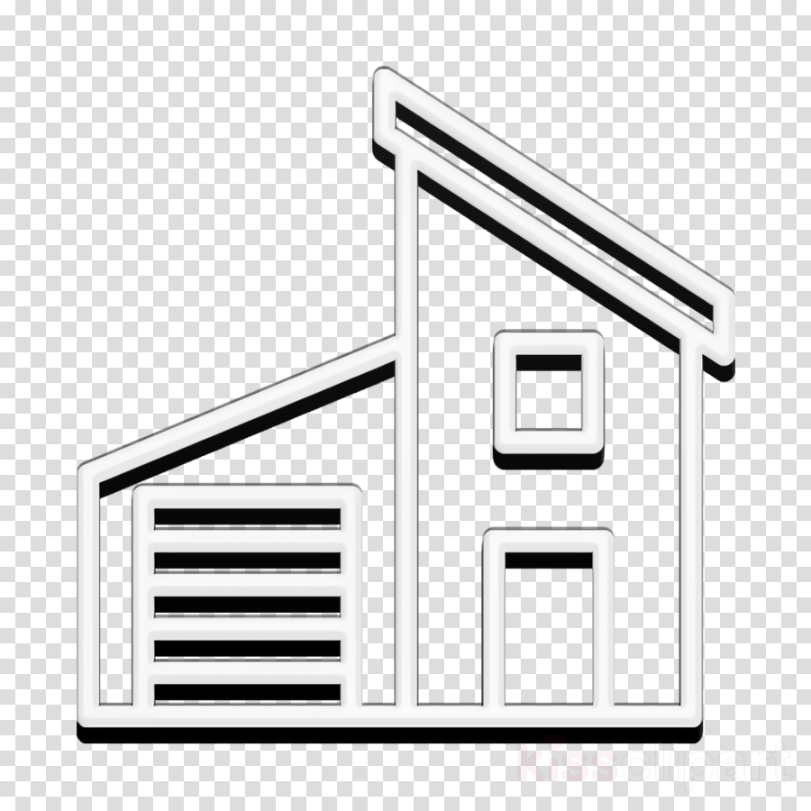 Buildings icon House icon