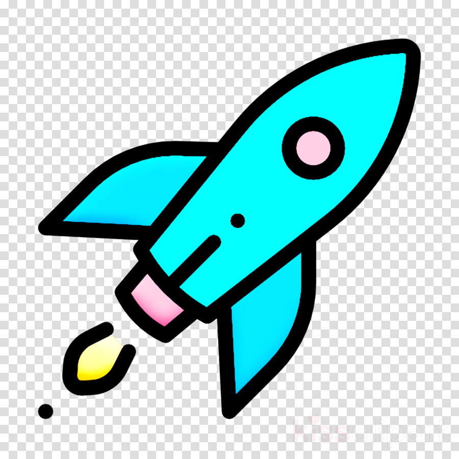 Startup & new business icon Rocket icon Startup icon