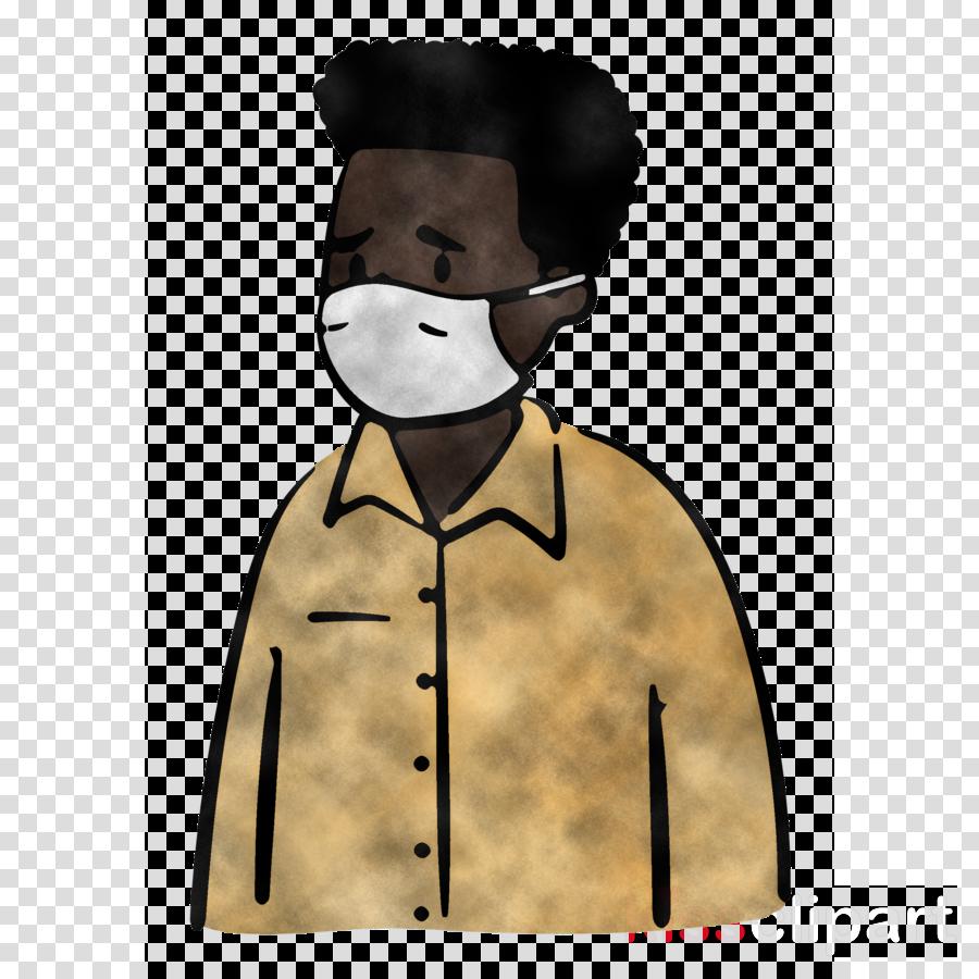 man Medical Mask coronavirus