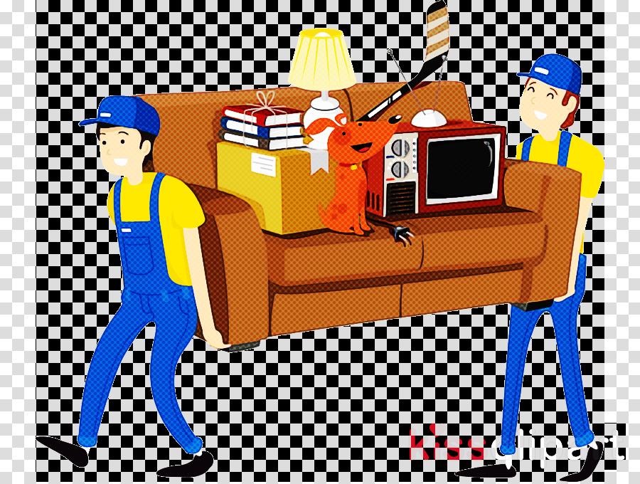 cartoon line job behavior human