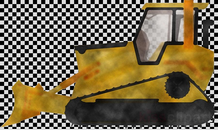 bulldozer yellow